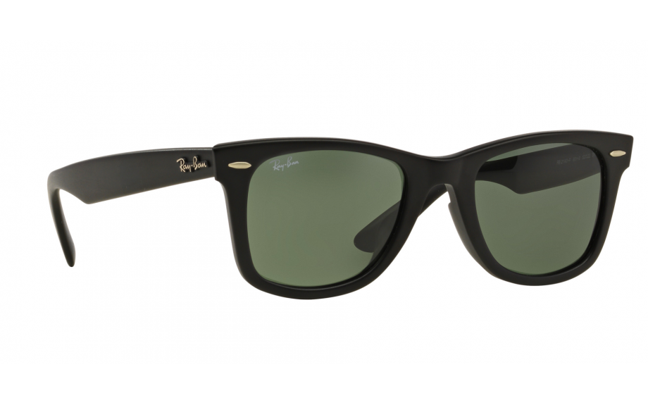 154d92621f Ray-Ban Wayfarer RB2140F 901S 52 ASIAN FIT Sunglasses - Free Shipping |  Shade Station