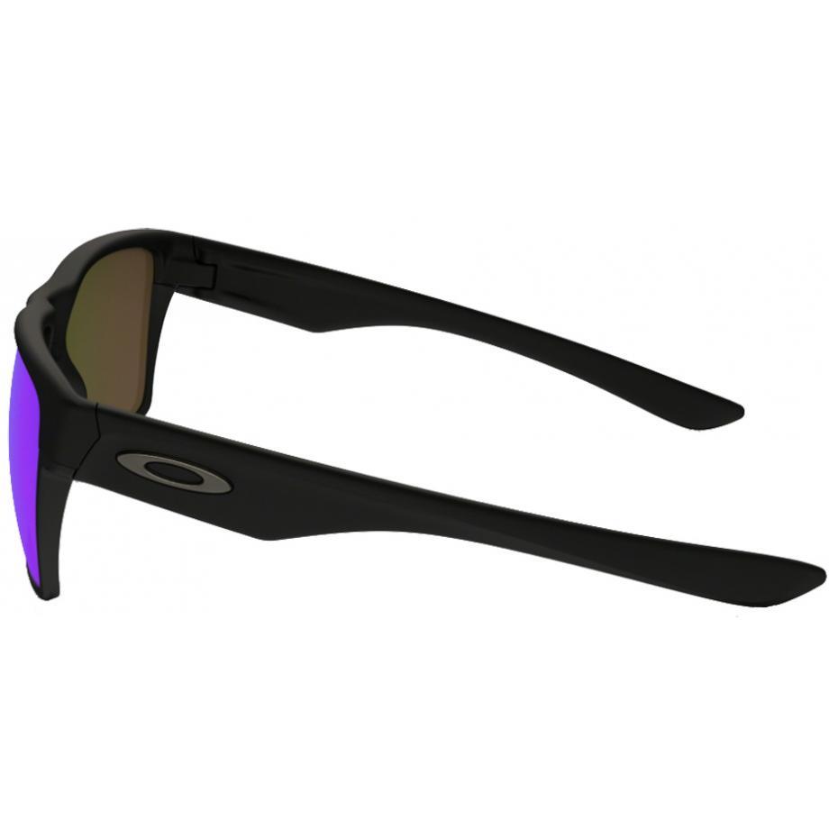 8ee884ddfd7 Oakley Twoface XL Sunglasses. zoom. 360° view. Frame  Matte Black Lens  Sapphire  Iridium Polarised